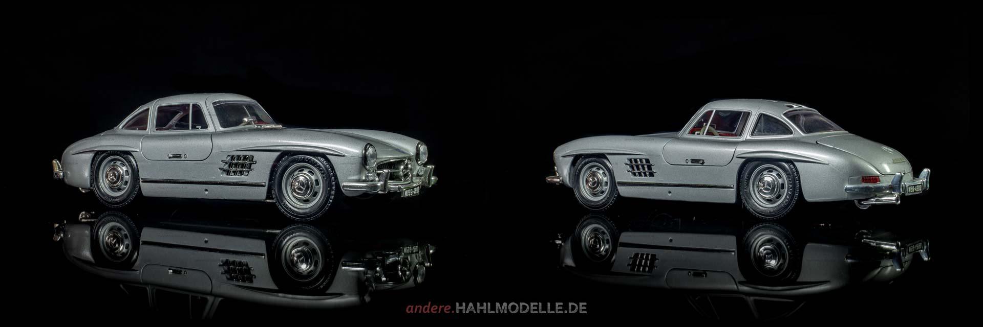 Mercedes-Benz 300 SL (W 198) | Coupé | Bburago | www.andere.hahlmodelle.de
