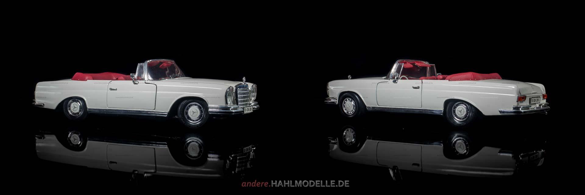 Mercedes-Benz 280 SE (W 111/C) | Cabriolet | Maisto | www.andere.hahlmodelle.de
