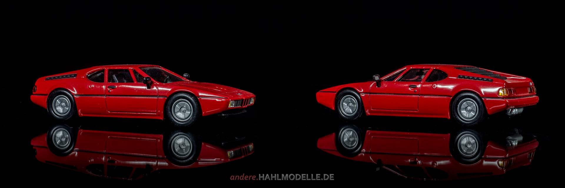 BMW M1 (E26) | Sportwagen | Ixo | www.andere.hahlmodelle.de