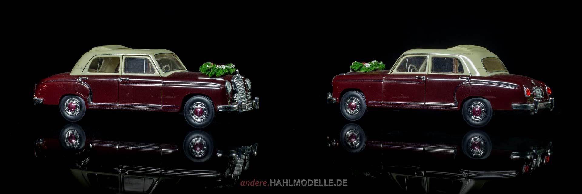 Mercedes-Benz 220 S (W 180) | Limousine | Faller | www.andere.hahlmodelle.de