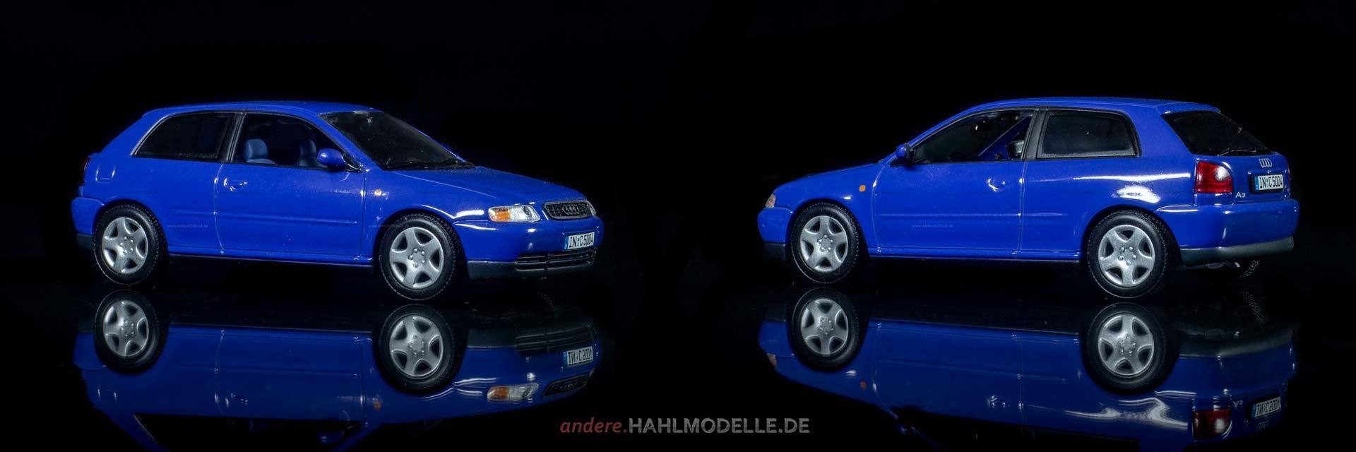 Audi A3 8L | Limousine | Minichamps | www.andere.hahlmodelle.de