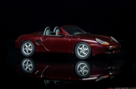 Porsche Boxster (Typ 986) | Roadster | Schuco | 1:43 | www.andere.hahlmodelle.de
