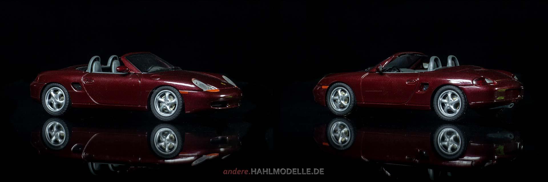 Porsche Boxter (Typ 986) | Roadster | Schucoo | 1:43 | www.andere.hahlmodelle.de
