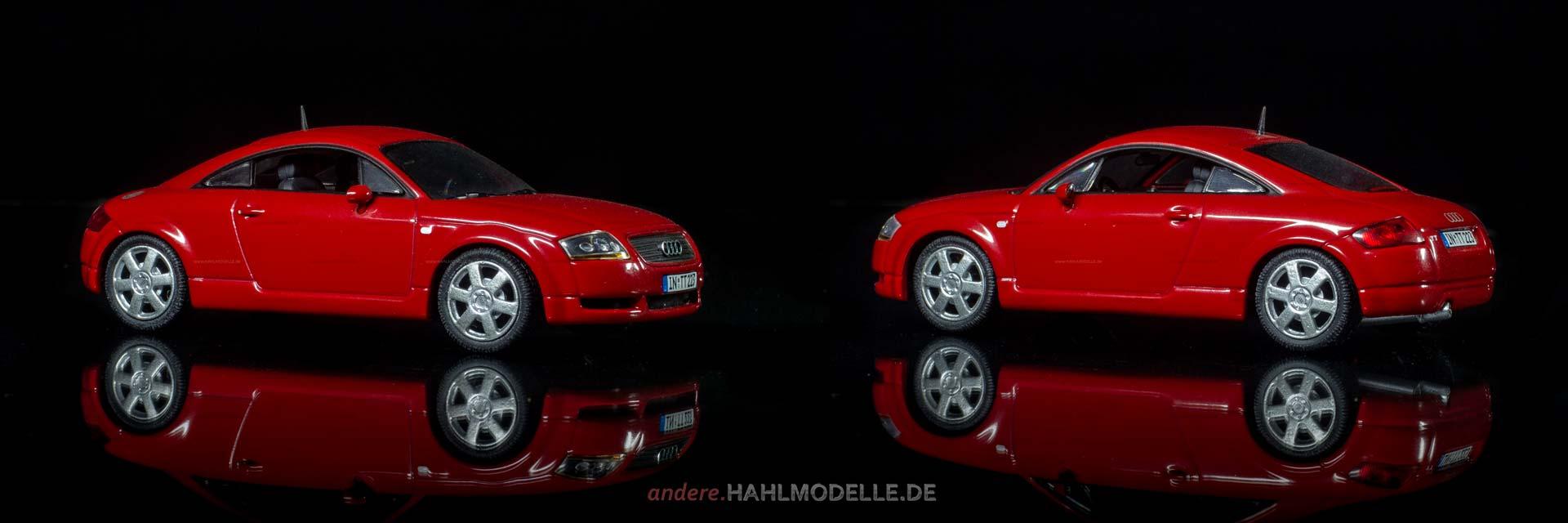 Audi TT 8N | Coupé | Minichamps | www.andere.hahlmodelle.de