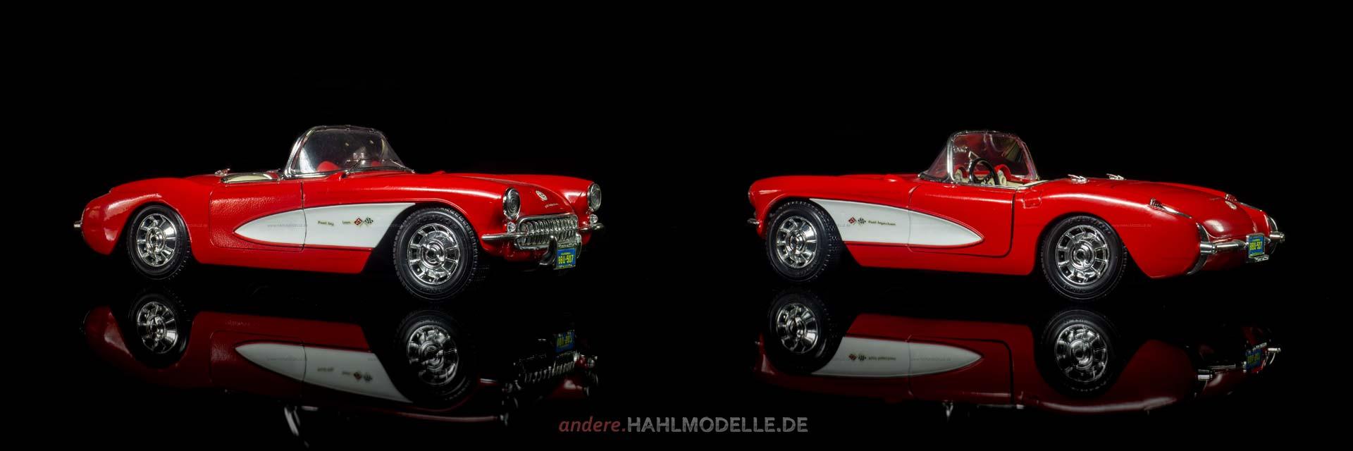 Chevrolet Corvette C1 | Roadster | Bburago | 1:18 | www.andere.hahlmodelle.de