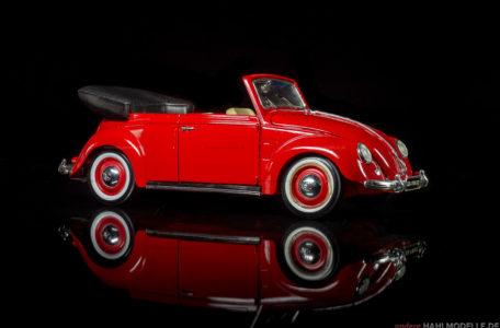 Volkswagen Cabriolet (Karmann Cabriolet Typ 15) | Cabriolet | Maisto | 1:18 | www.andere.hahlmodelle.de