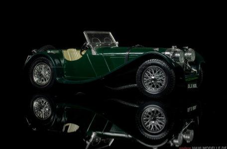 Jaguar S.S. 100 | Roadster | Bburago | www.andere.hahlmodelle.de