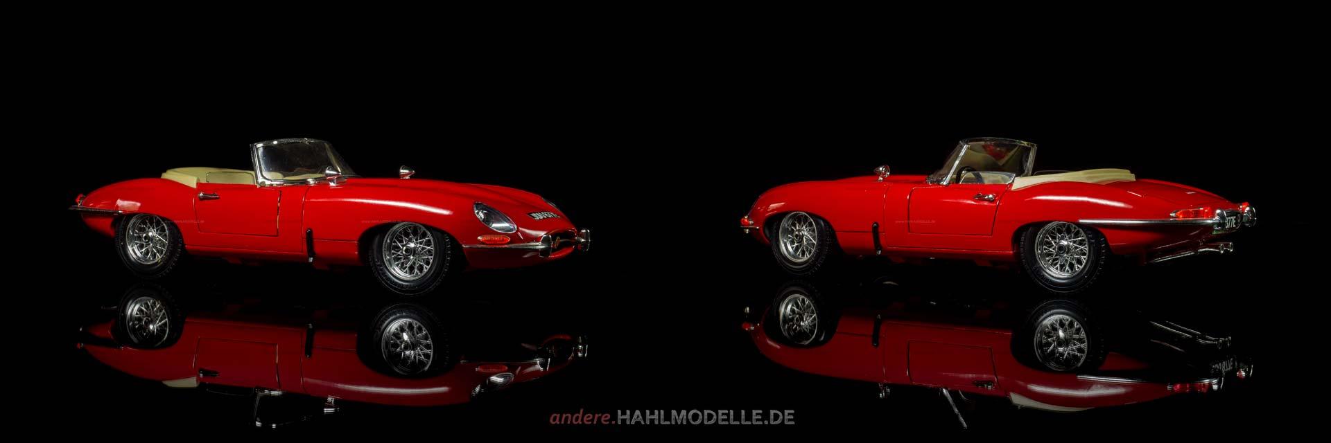 Jaguar E-Type | Roadster | Bburago | www.andere.hahlmodelle.de