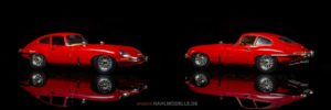 Jaguar E-Type   Coupé   Bburago   www.andere.hahlmodelle.de