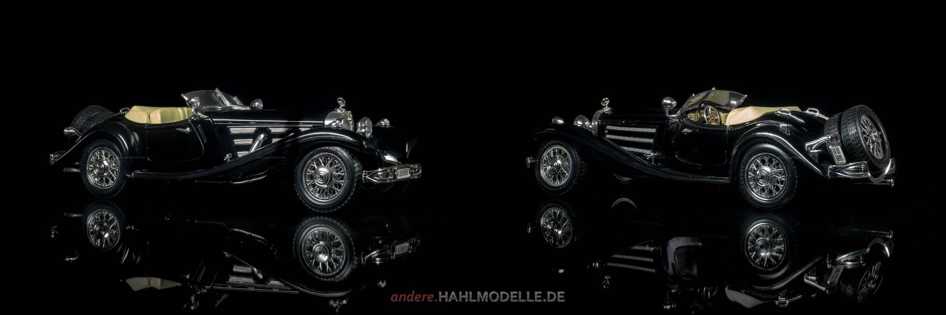 Mercedes-Benz 500 K (W 29) | Roadster | Bburago | www.andere.hahlmodelle.de