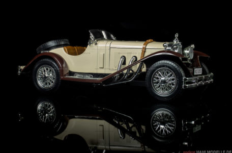 Mercedes-Benz SSK (W 06 II) | Zweisitzer | Bburago | www.andere.hahlmodelle.de