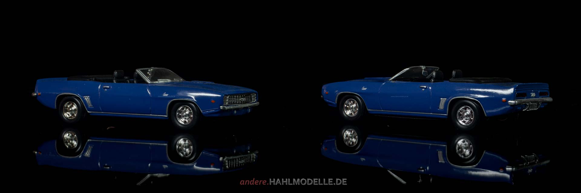 Chevrolet Camaro | Cabriolet | Ixo (Del Prado Car Collection) | 1:43 | www.andere.hahlmodelle.de