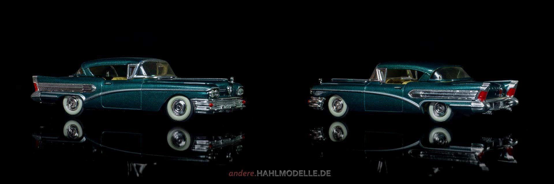 Buick Serie 75 Roadmaster Riviera Limited Hardtop Coupé | Coupé | Vitesse | 1:43 | www.andere.hahlmodelle.de