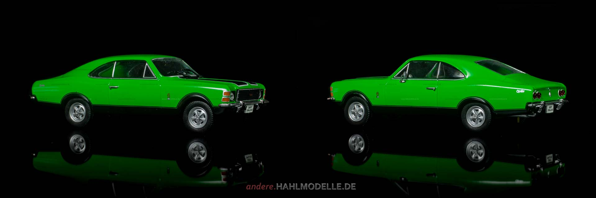 Chevrolet Opala SS | Coupé | Ixo (Opel Collection von Eaglemoss) | 1:43 | www.andere.hahlmodelle.de