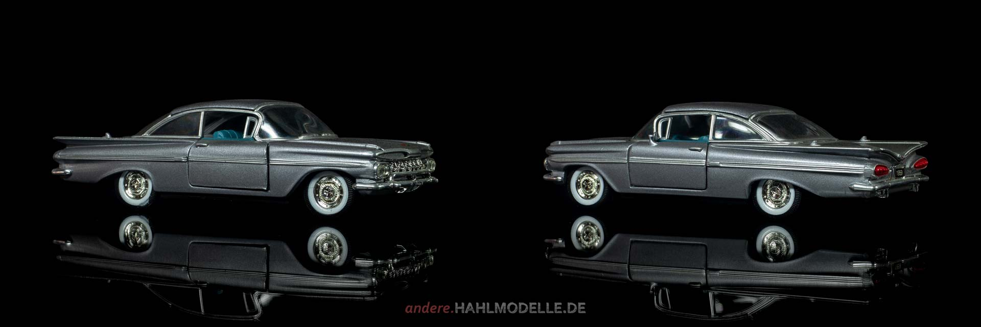 Chevrolet Impala two-door Sedan | Limousine | Road Champs | 1:43 | www.andere.hahlmodelle.de