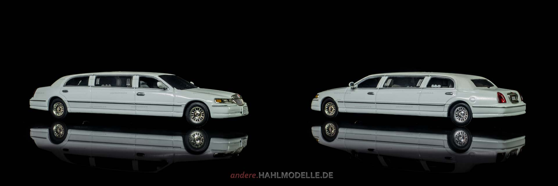 Lincoln Town Car | Stretch-Limousine | Sun Star | 1:43 | www.andere.hahlmodelle.de