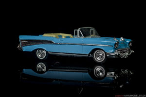 Chevrolet Bel Air (Serie 2400C) Convertible | Cabriolet | Dinky | 1:43 | www.andere.hahlmodelle.de