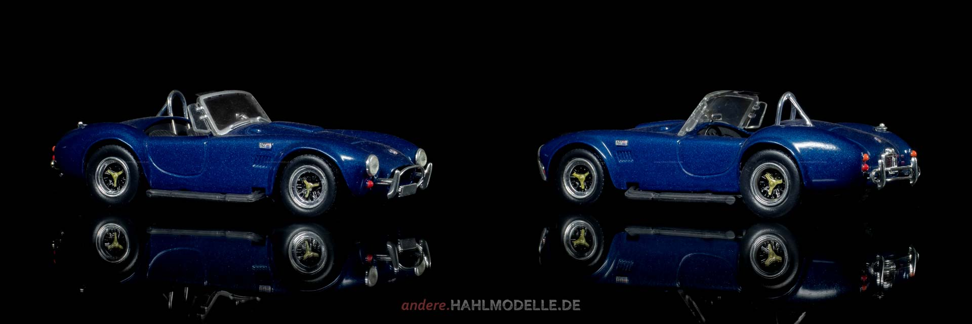 AC Cars Ltd. Shelby Cobra | Roadster | Ixo (Del Prado Car Collection) | 1:43 | www.andere.hahlmodelle.de
