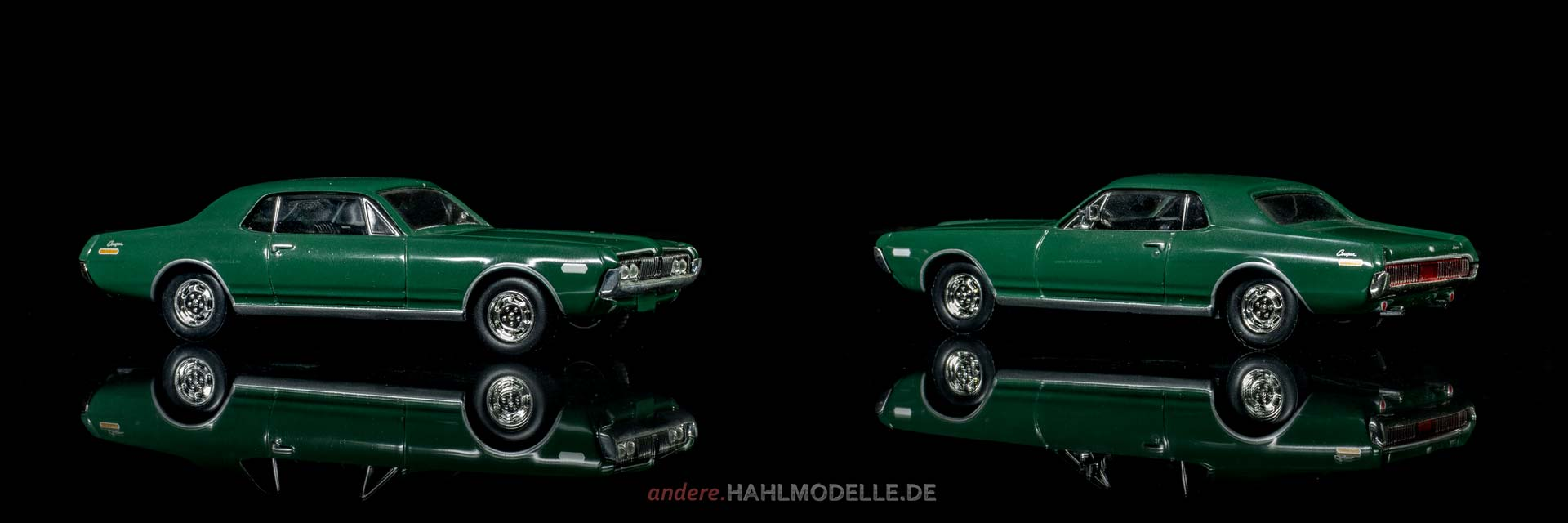 Mercury Cougar | Coupé | Ixo (Del Prado Car Collection) | 1:43 | www.andere.hahlmodelle.de