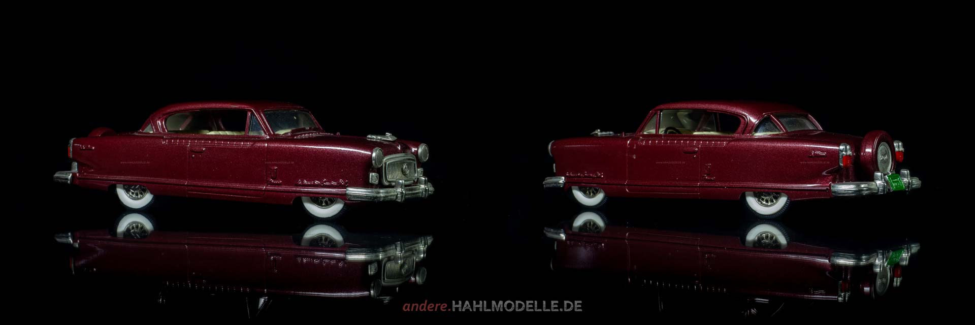 Nash Ambassador Super Sedan two-doors | Limousine | Brooklin Models | 1:43 | www.andere.hahlmodelle.de