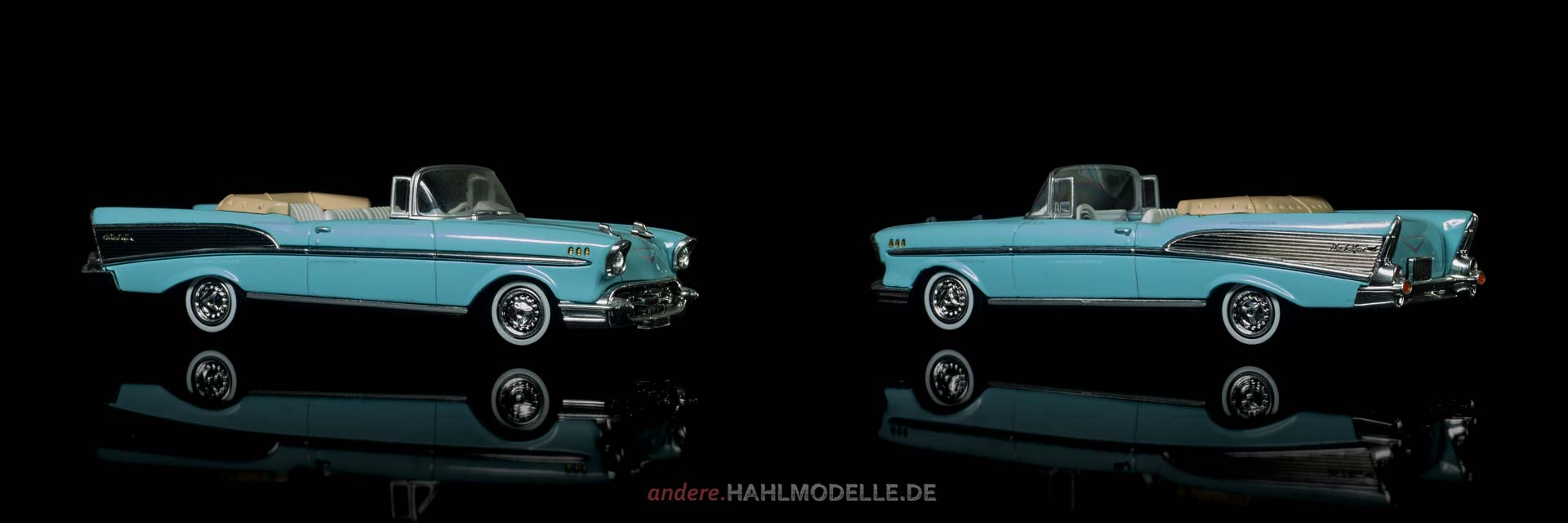Chevrolet Bel Air (Serie 2400C) | Cabriolet | Ixo (Del Prado Car Collection) | 1:43 | www.andere.hahlmodelle.de