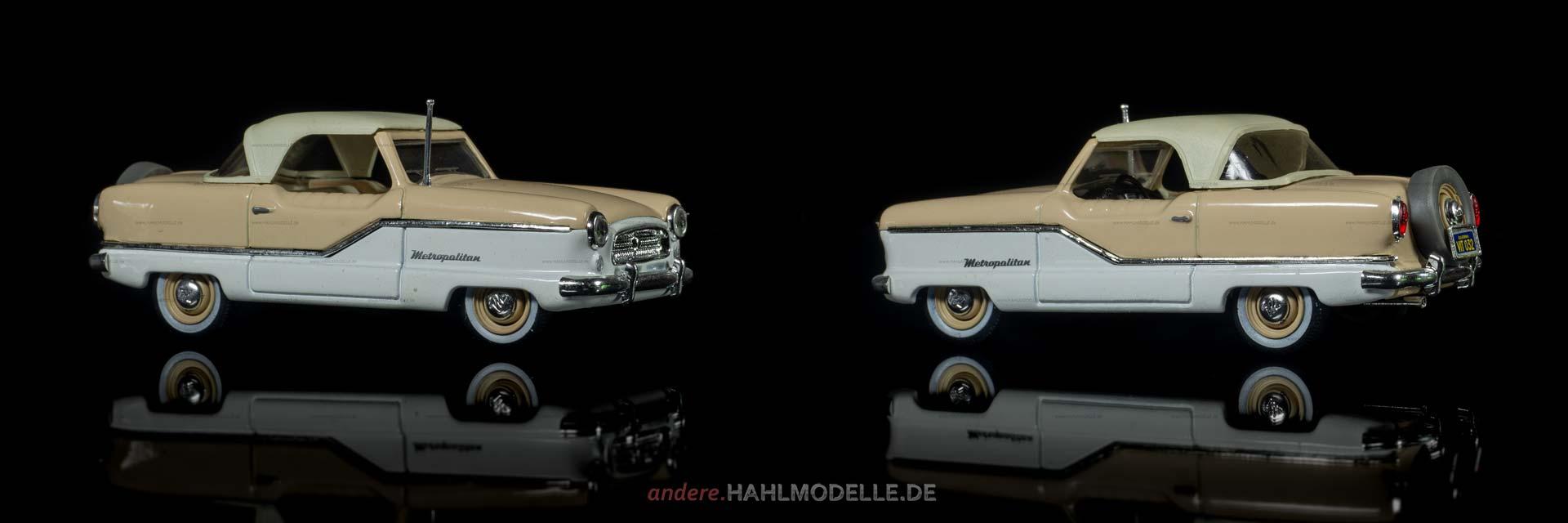 Nash Metropolitan | Cabriolet | Vitesse | 1:43 | www.andere.hahlmodelle.de