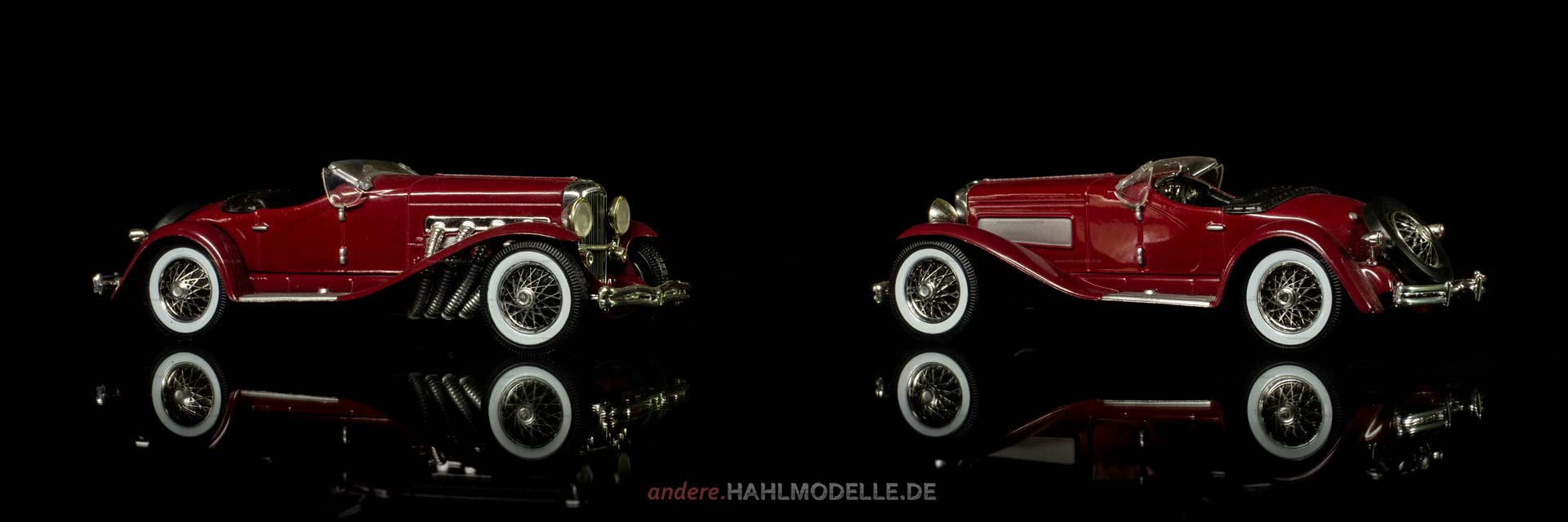 Duesenberg J | Spider | Ixo (Del Prado Car Collection) | 1:43 | www.andere.hahlmodelle.de