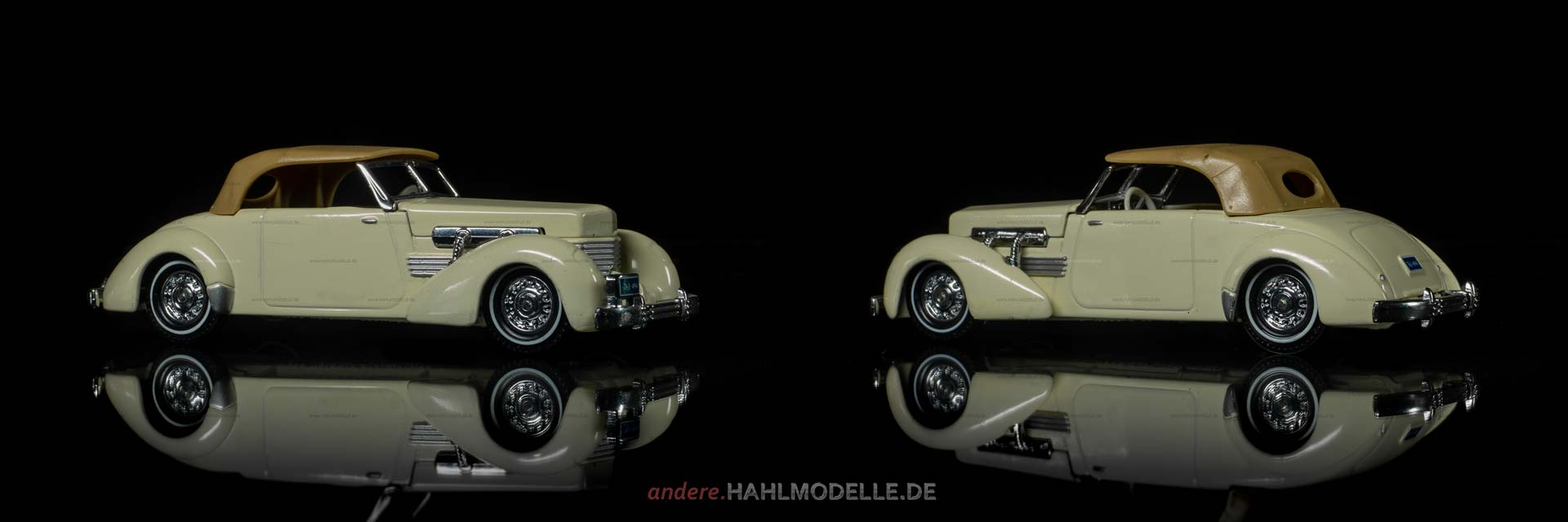 Cord 812 | Cabriolet | Lesney Products & Co. Ltd., Matchbox – Models of Yesteryear | 1:43 | www.andere.hahlmodelle.de