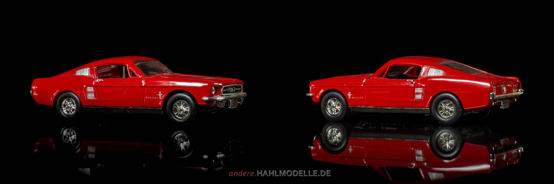 Ford Mustang I (1. Version) | Coupé | Ixo | 1:43 | www.andere.hahlmodelle.de