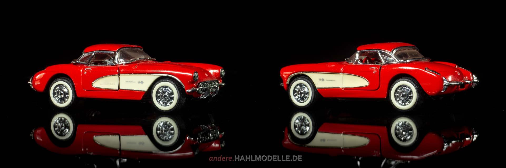 Chevrolet Corvette C1 | Roadster | Franklin Mint Precision Models | 1:43 | www.andere.hahlmodelle.de