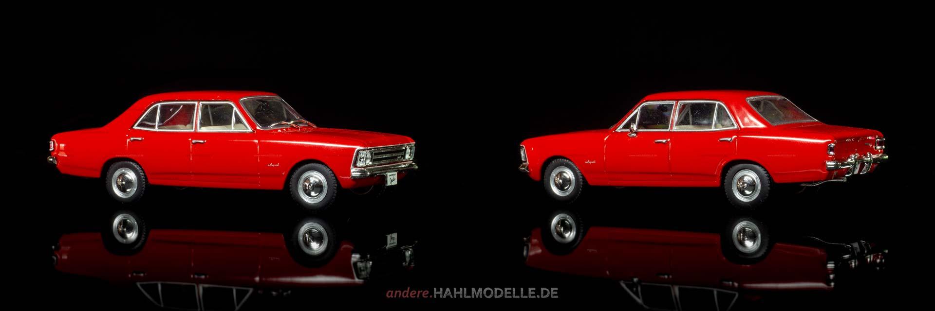 Chevrolet Opala | Limousine | Ixo (Opel Collection von Eaglemoss) | 1:43 | www.andere.hahlmodelle.de