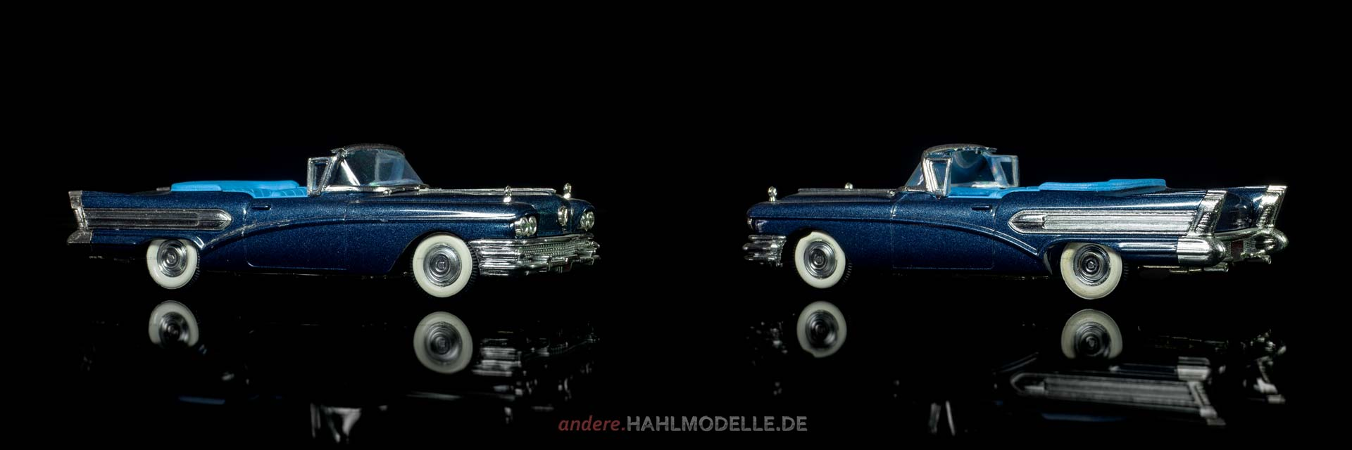 Buick Serie 75 Roadmaster Riviera Convertible | Cabriolet | Vitesse | 1:43 | www.andere.hahlmodelle.de
