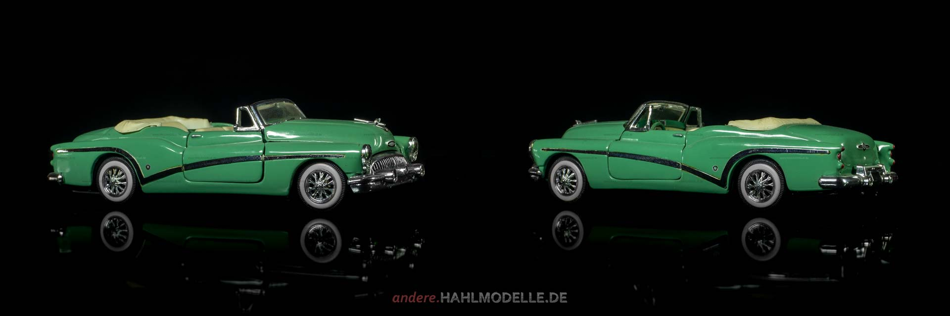 Buick Serie 70 Skylark Convertible Coupé | Cabriolet | Franklin Mint Precision Models | 1:43 | www.andere.hahlmodelle.de