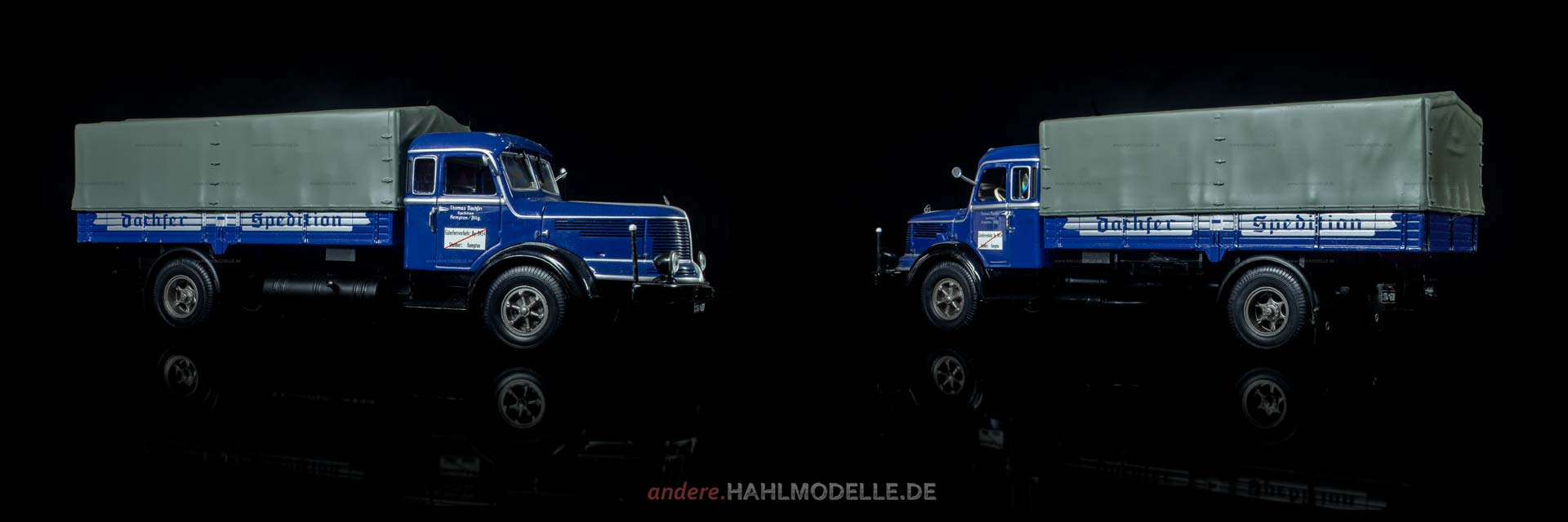 Krupp-Südwerke Titan S 80 | LKW Pritsche/Plane | Minichamps | 1:43 | www.andere.hahlmodelle.de