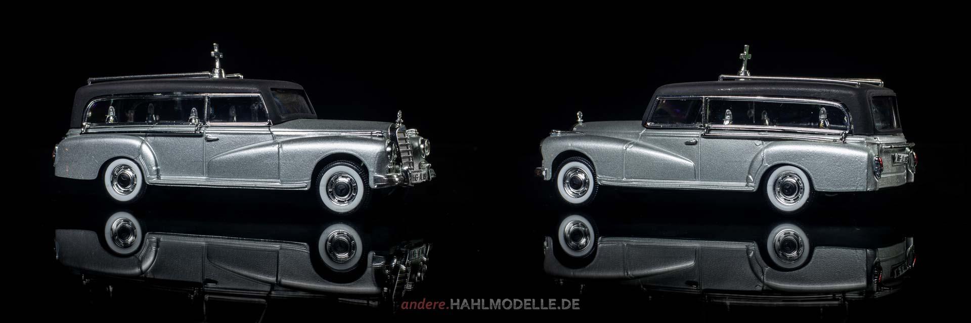 Mercedes-Benz 300d Bestatter (W 189) | Kombi | Rio | www.andere.hahlmodelle.de