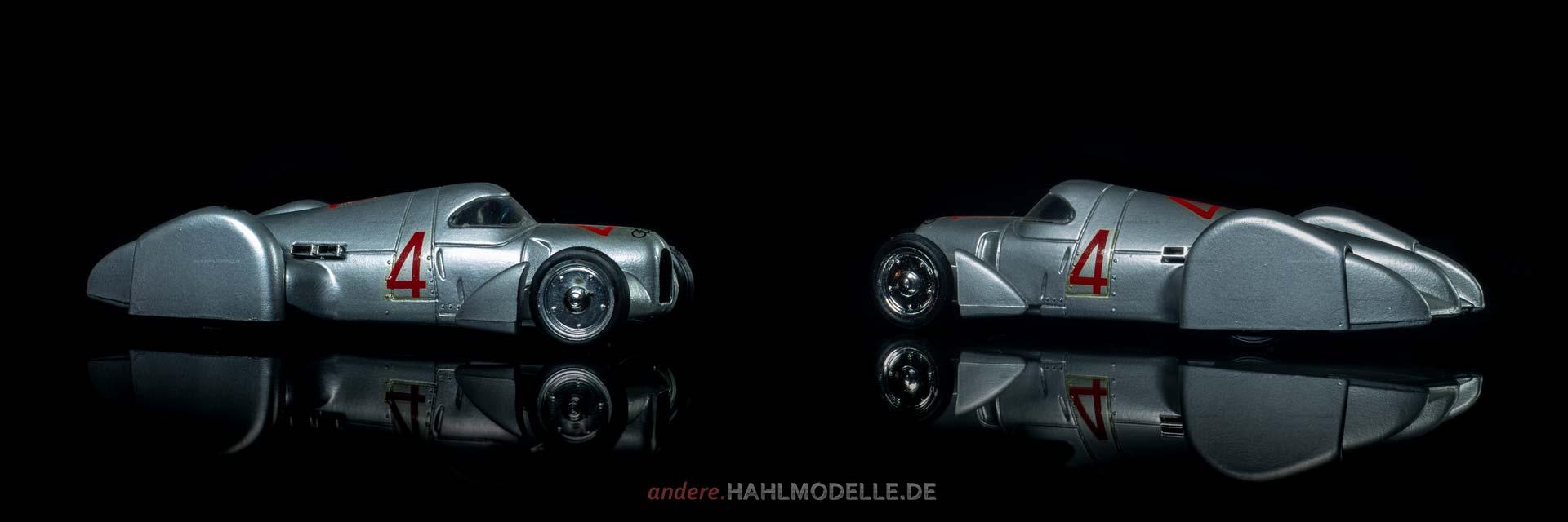 Auto Union Rekordwagen Typ C | Experimentalfahrzeug | Brumm | 1:43 | www.andere.hahlmodelle.de