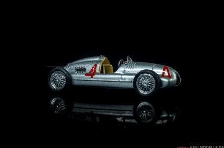 Auto Union Rennwagen Typ D | Motorsport | Brumm | 1:43 | www.andere.hahlmodelle.de