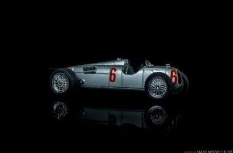 Auto Union Rennwagen Typ C | Motorsport | Brumm | 1:43 | www.andere.hahlmodelle.de