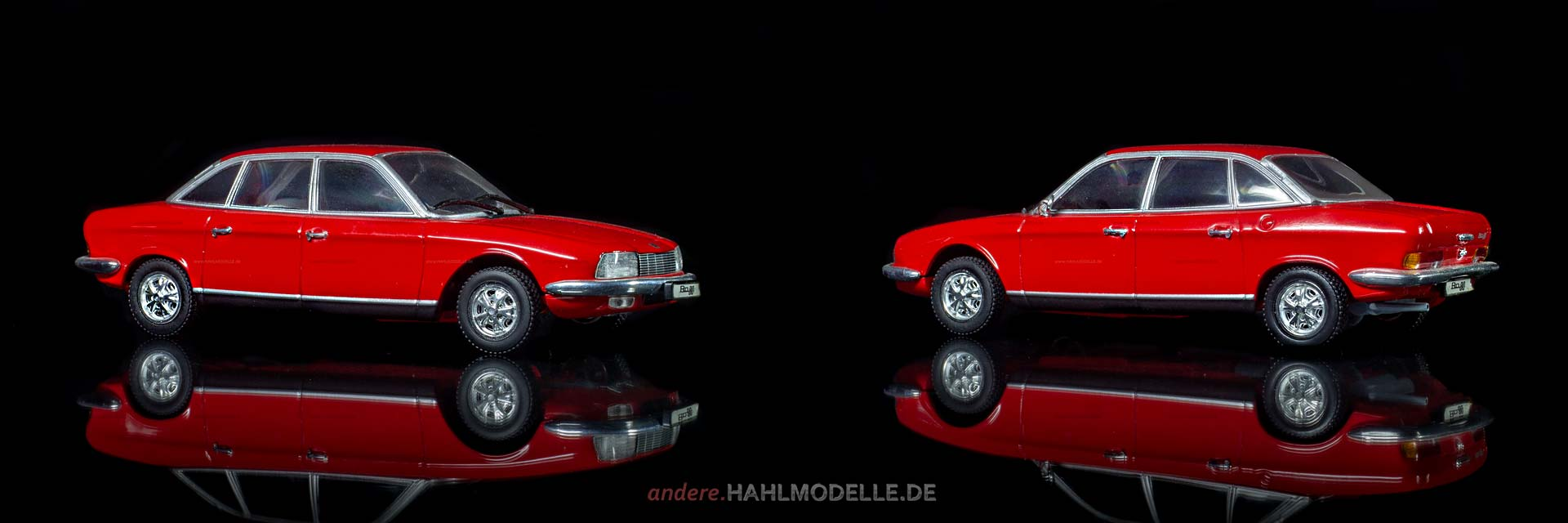 NSU Ro 80 | Limousine | Minichamps | www.andere.hahlmodelle.de