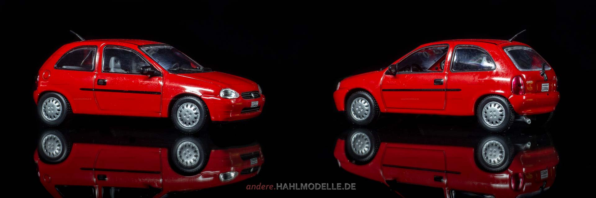 Chevrolet Corsa | Limousine | Ixo | 1:43 | www.andere.hahlmodelle.de