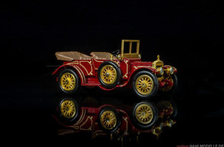 Daimler 12hp A12 Tourer | Tourenwagen | Lesney Products & Co. Ltd., Matchbox – Models of Yesteryear | 1:43 | www.andere.hahlmodelle.de