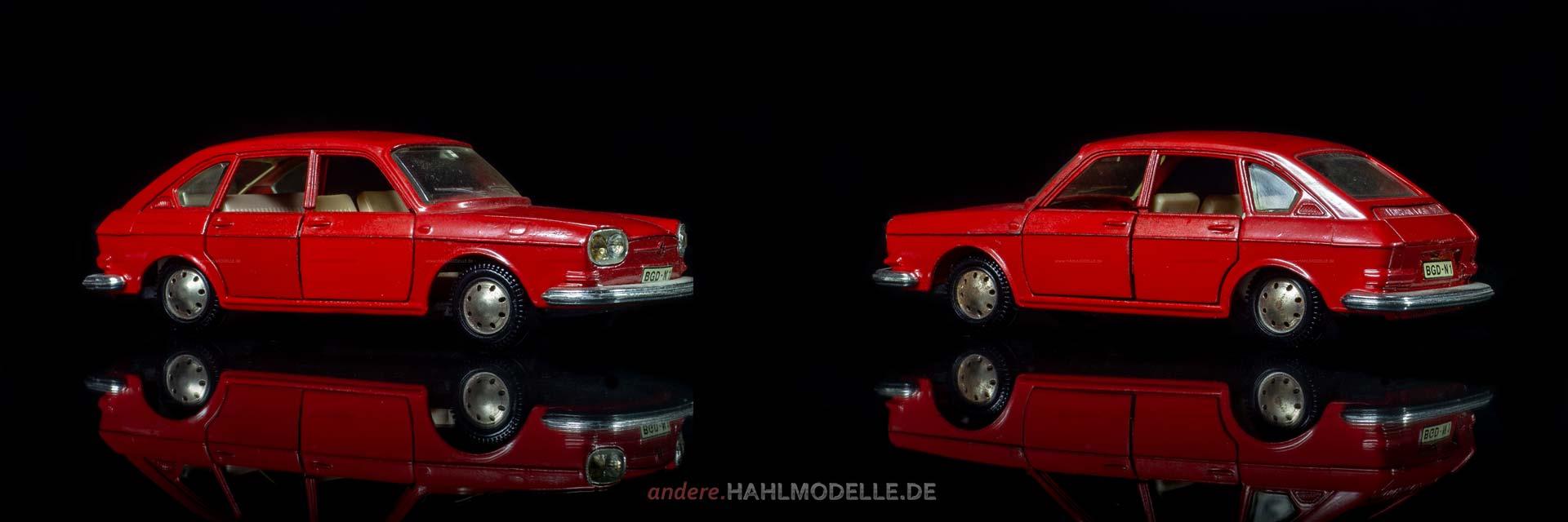 Volkswagen 411 (Typ 4) | Limousine | Märklin | 1:43 | www.andere.hahlmodelle.de