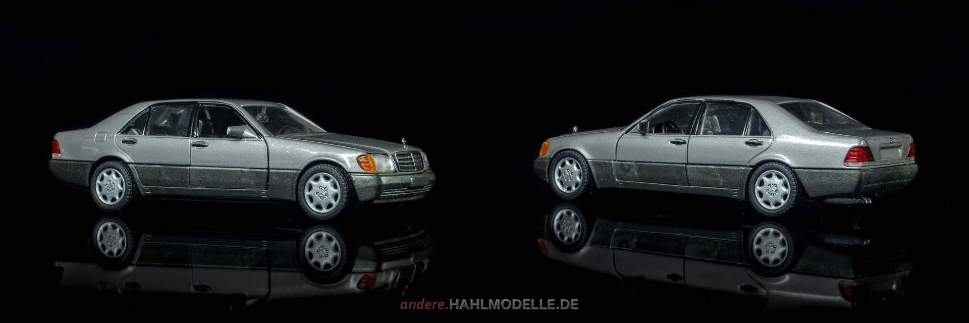 Mercedes-Benz 600 SEL (V 140 | Limousine | Schabak | www.andere.hahlmodelle.de