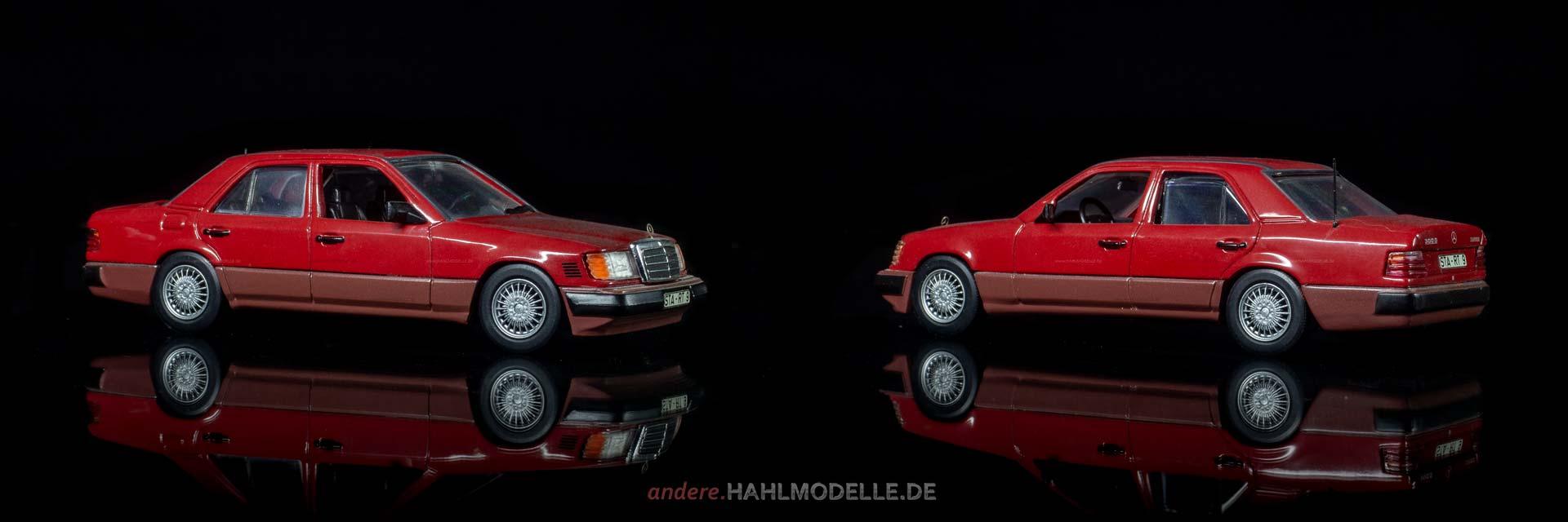 Mercedes-Benz 300 D Turbodiesel (W 124 | Limousine | Minichamps | www.andere.hahlmodelle.de