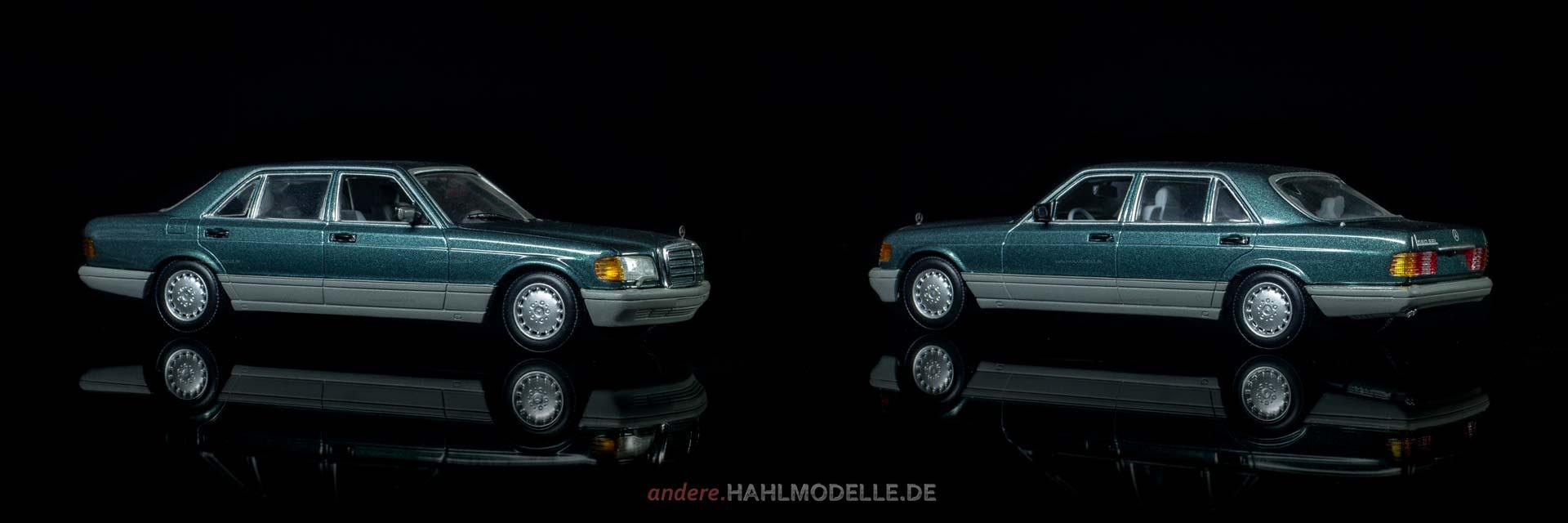 Mercedes-Benz 560 SEL (W 126 | Limousine | Minichamps | www.andere.hahlmodelle.de