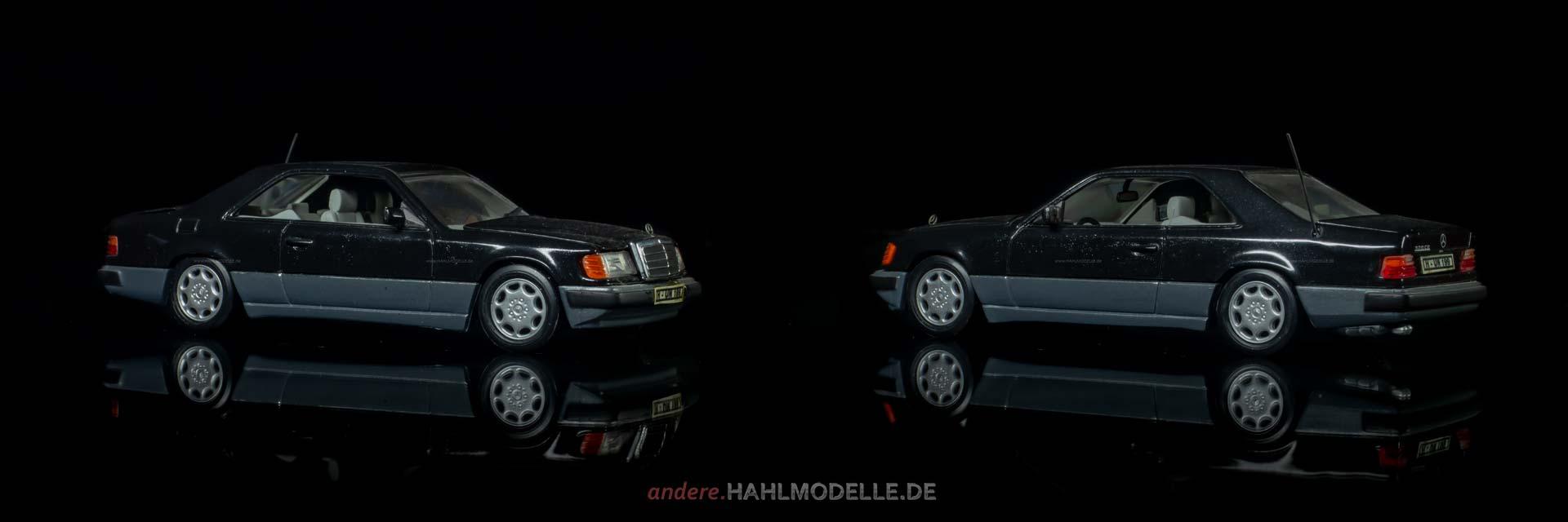 Mercedes-Benz 320 CE (W 124 | Coupé | Minichamps | www.andere.hahlmodelle.de