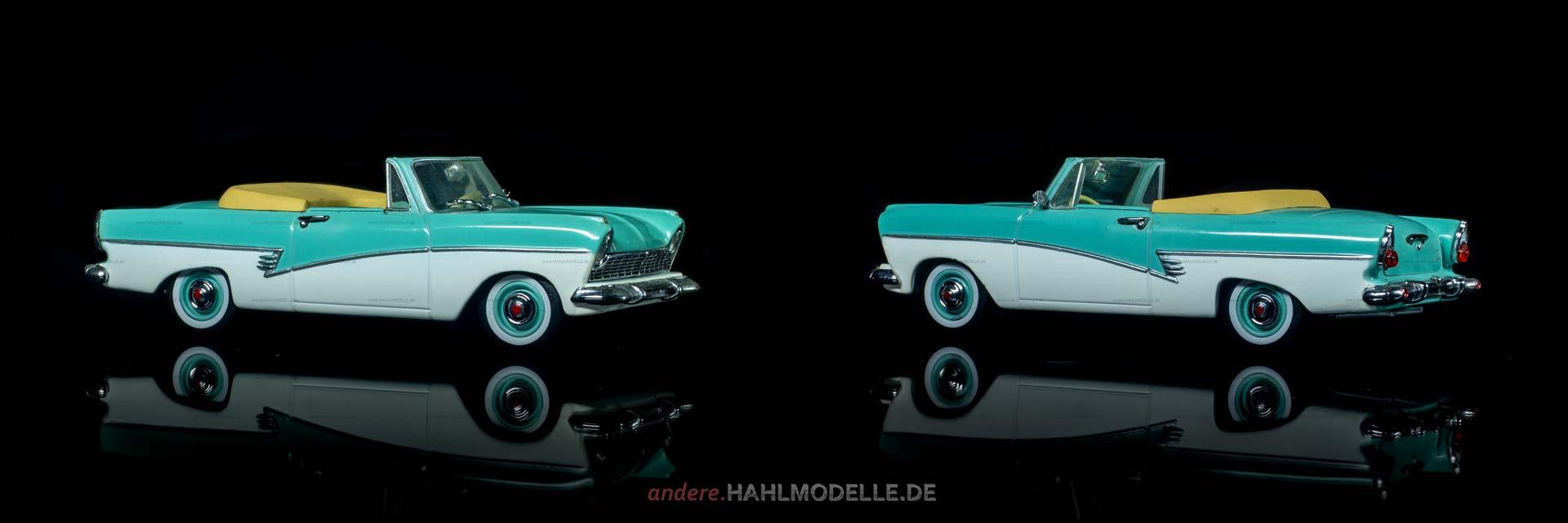 Ford Taunus 17M (P2) | Cabriolet | Revell | 1:43 | www.andere.hahlmodelle.de