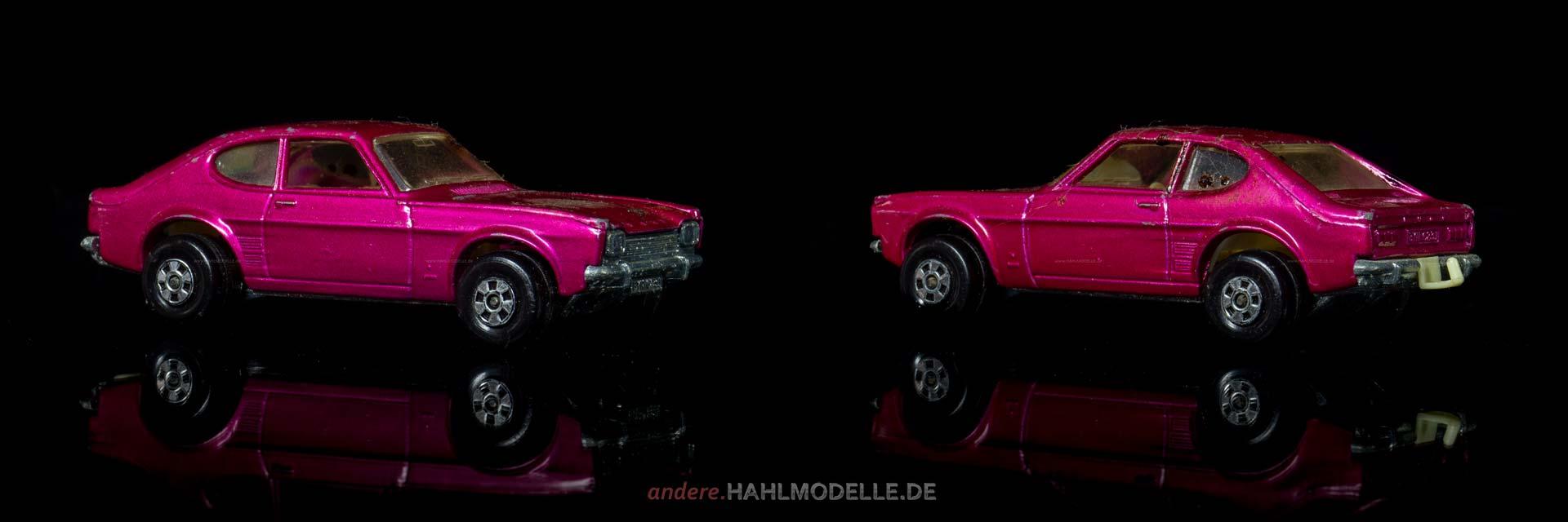 Ford Capri I (Capri *69) | Coupé | Lesney Products & Co. Ltd. | Matchbox | www.andere.hahlmodelle.de