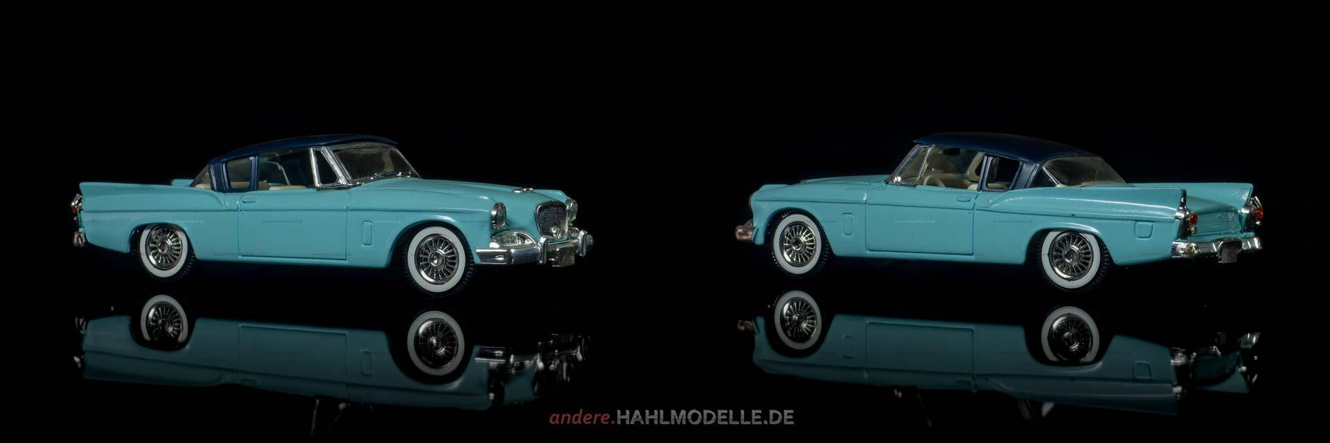Studebaker Silver Hawk | Coupé | Solido | 1:43 | www.andere.hahlmodelle.de