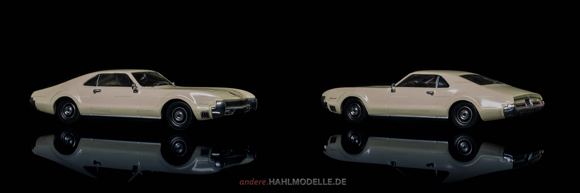 Oldsmobile Toronado | Coupé | Ixo (Del Prado Car Collection) | 1:43 | www.andere.hahlmodelle.de